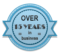 Over 15 Years In Business